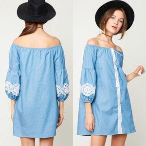 Dresses & Skirts - Lovely Denim Dress
